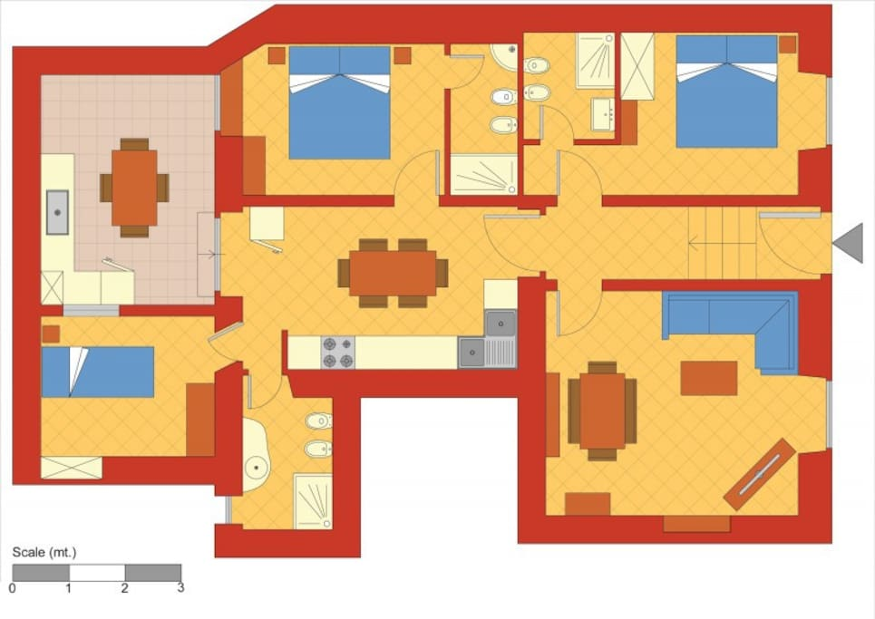 Map of the house