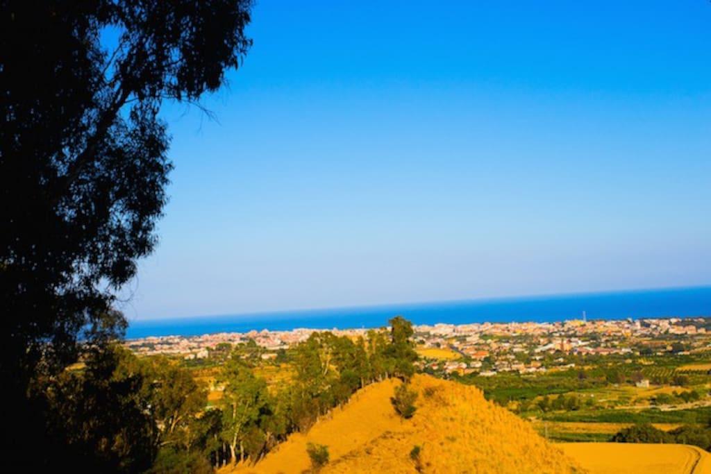 Panorama sulla costa dei gelsomini