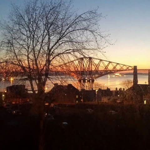 Picture Perfect View of Forth Road Bridge