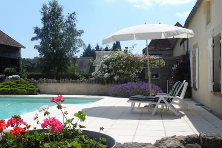 Beautiful Villa & Pool in Burgundy - Châteauneuf-Val-de-Bargis - บ้าน