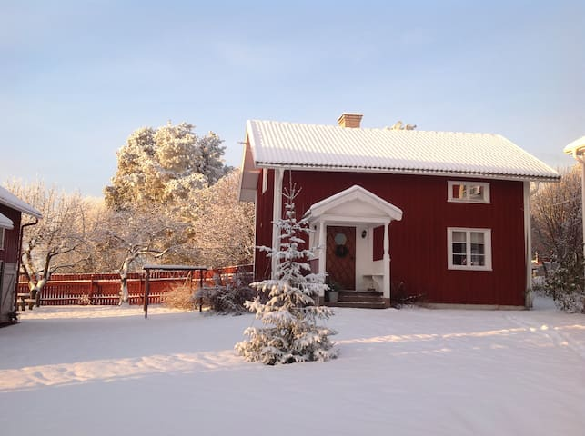 Cozy cabin in a country setting near lake Siljan - Vikarbyn - Talo