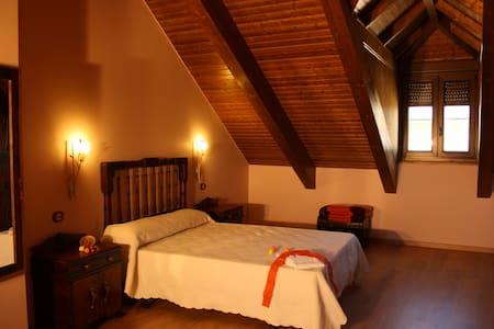 Habitación doble superior Canela (con desayuno) - Ponferrada - Bed & Breakfast