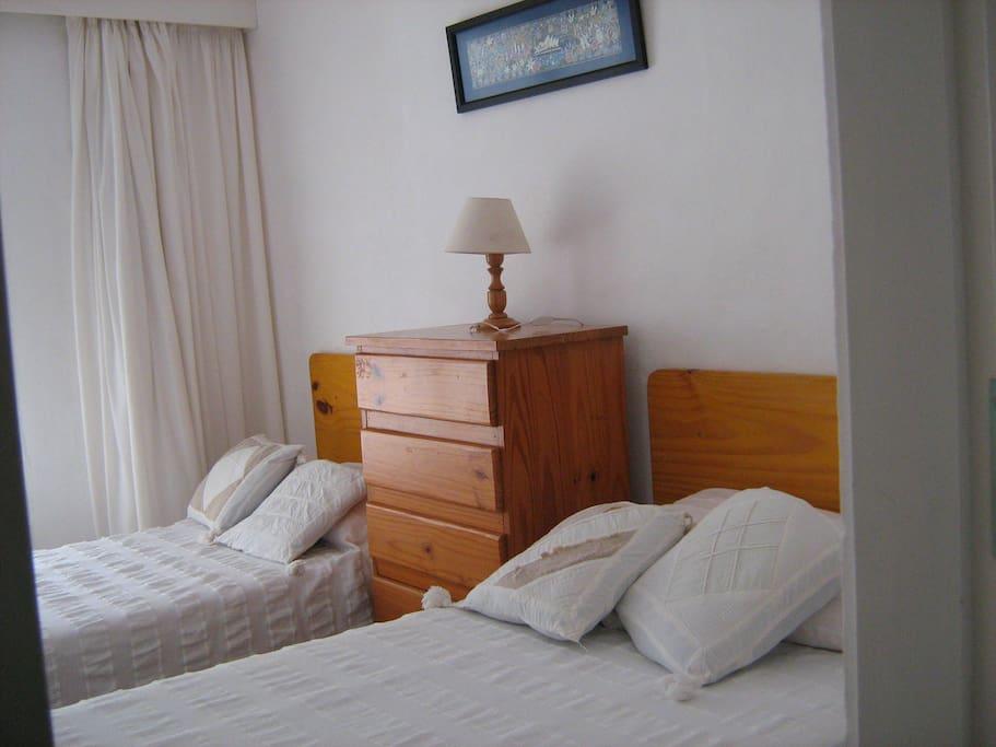 dormitorio 2 camas twin