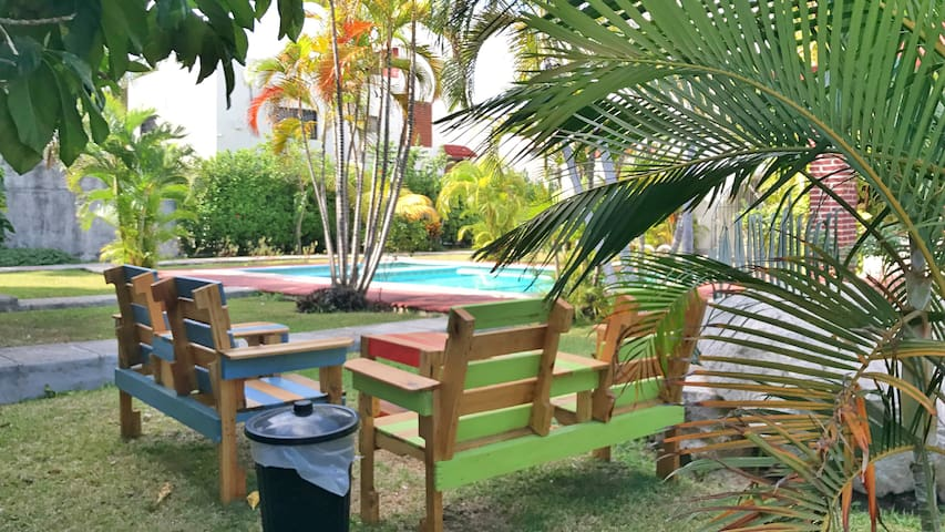 Beach Room at The Heart of Cancún - Cancún - Kondominium