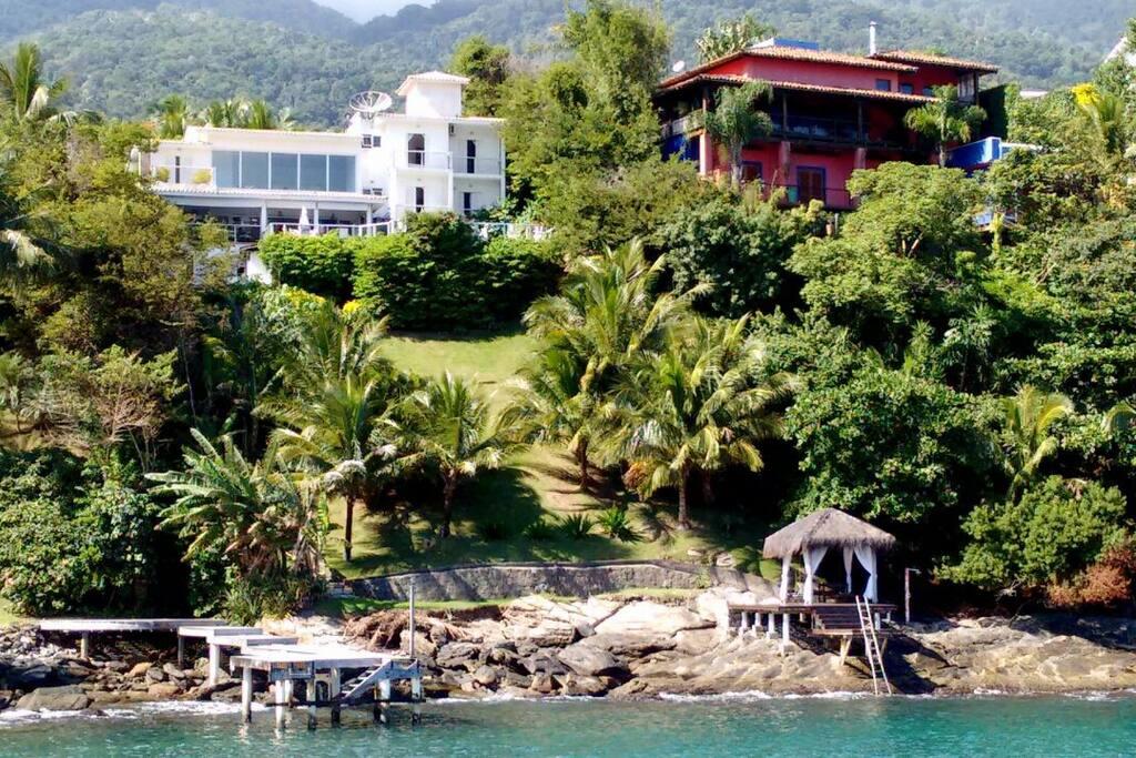 Visita da casa (vista do mar)