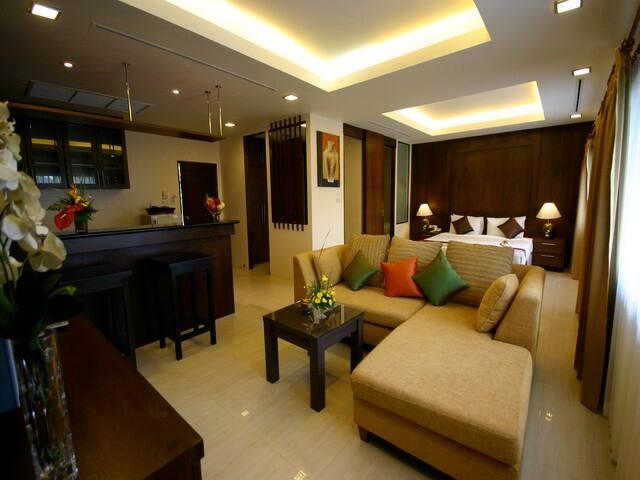 Studio Suite Pool View - Kathu - Bed & Breakfast