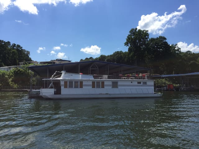 """Lazy Days"" House Boat - Catawba  - Boot"