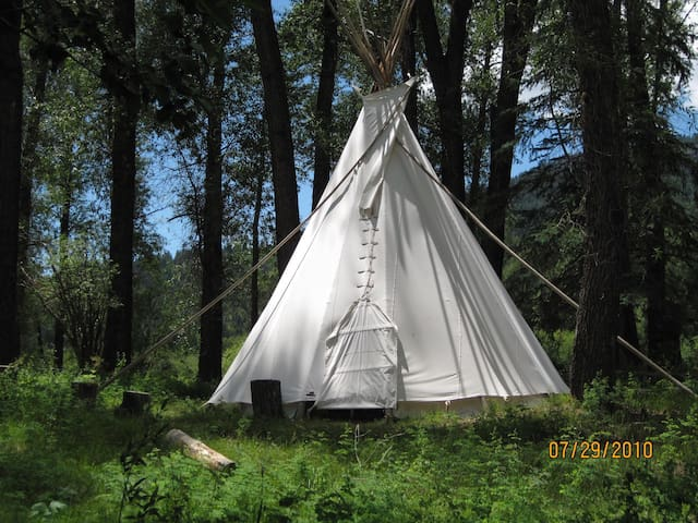 Wilderness B&B - Tipi with Singles