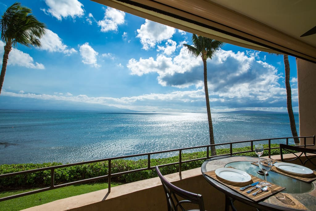Another angle of your unobstructed 180 degree ocean and outer island view!