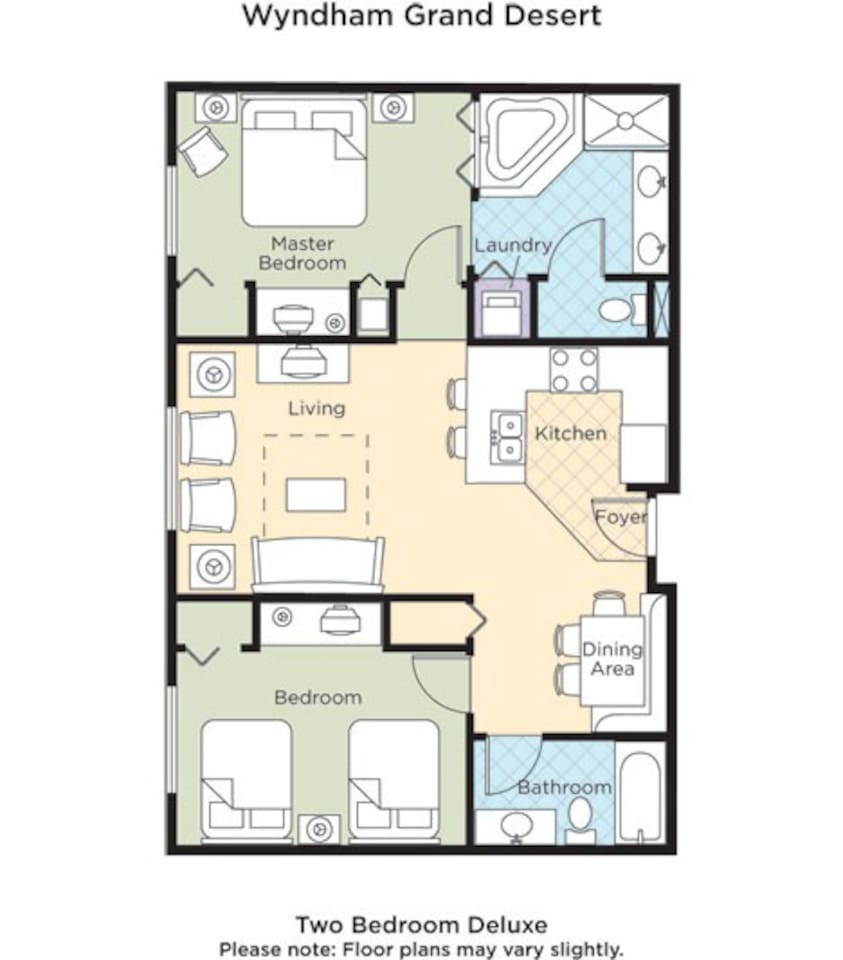 grand desert resort 2br deluxe - apartments for rent in las vegas