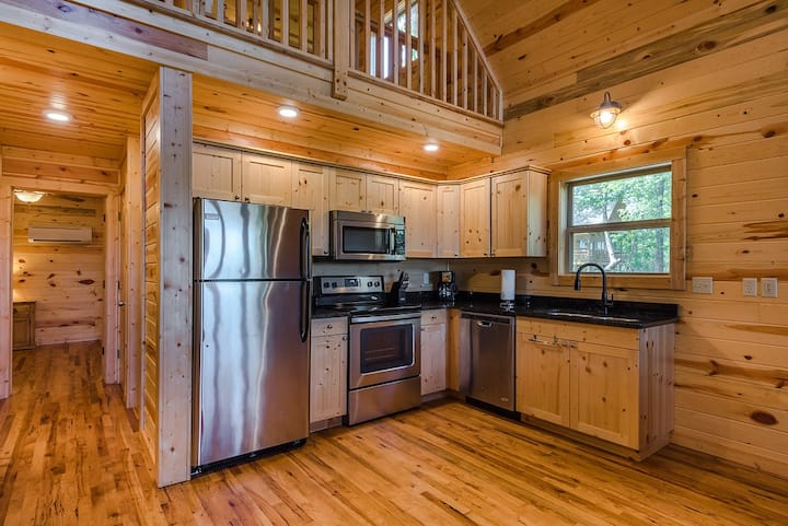 Water Buffalo Cabin is a must see!