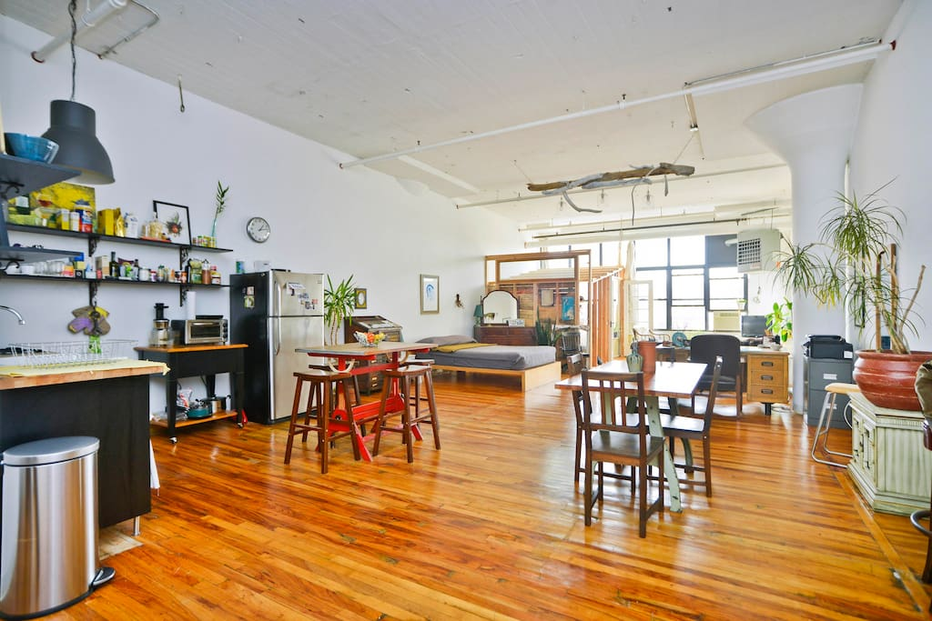 Brooklyn loft with a manhattan view lofts for rent in brooklyn new york u - Location loft new york manhattan ...