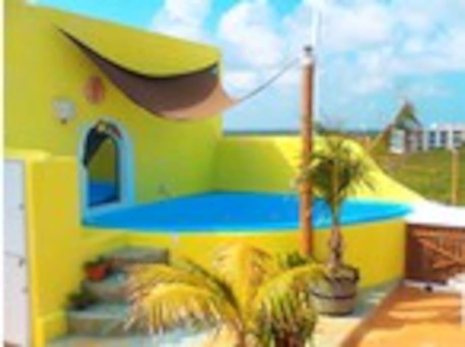Jacuzzi en el Sun Roof
