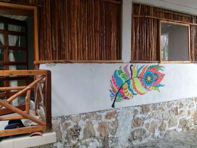 """Xul-Ha coco """"habitación 5"""" - Quintana Roo - Blockhütte"""