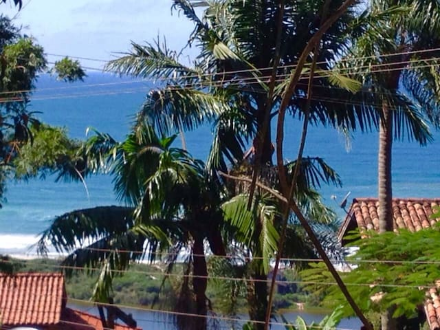 Praia do Rosa! Paraíso te espera! - Imbituba  - Çatı Katı