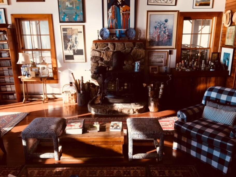 Greystone's charming living room