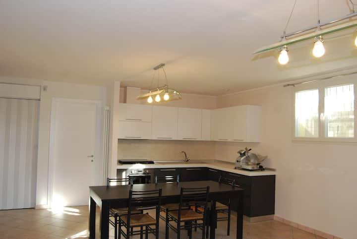large studio flat
