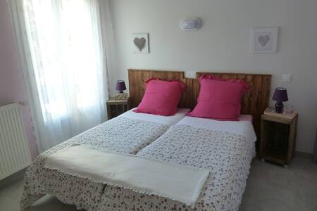 Chambre double Trainon - Authon - Bed & Breakfast