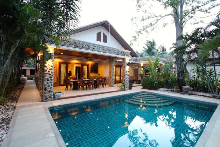 4 BEDROOM GARDEN VILLA NEAR BEACH - Hua Hin - Rumah