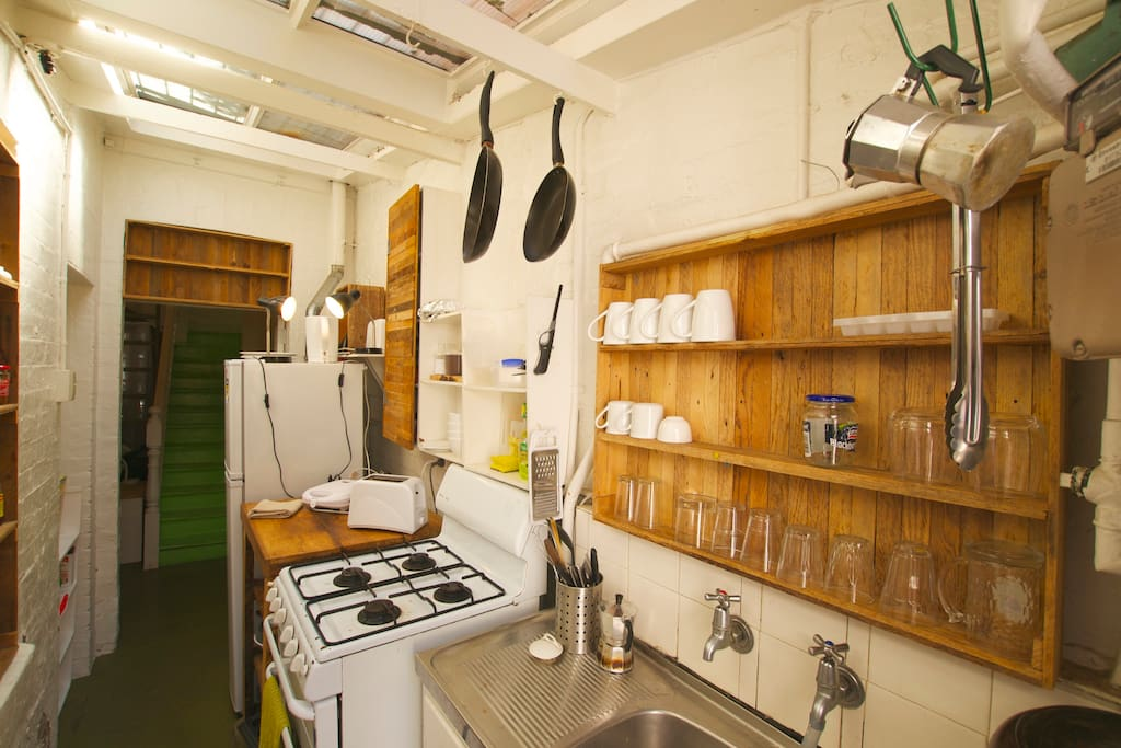 Small alley kitchen