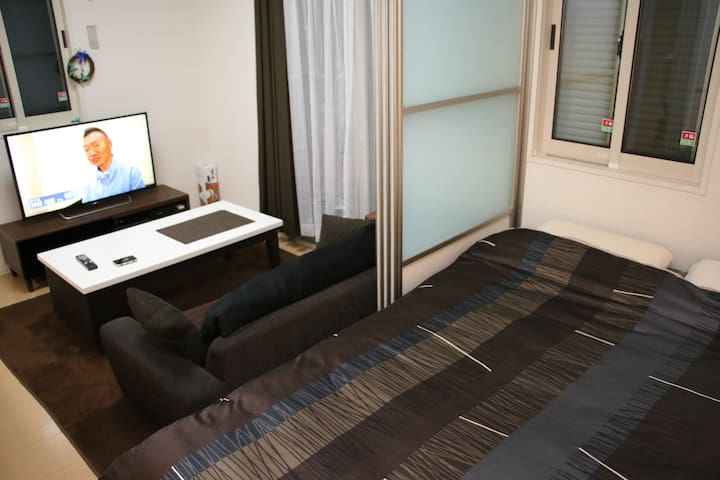 Quiet apartment near Ueno and Akiba, p-wifi - Taito - Appartement