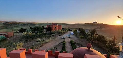 Gite Berbere de Charme OULMES - Chambres privées