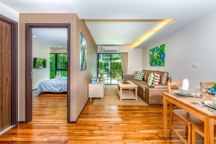 1 Bedroom Pool Access Apartment @Rawai beach - 50m