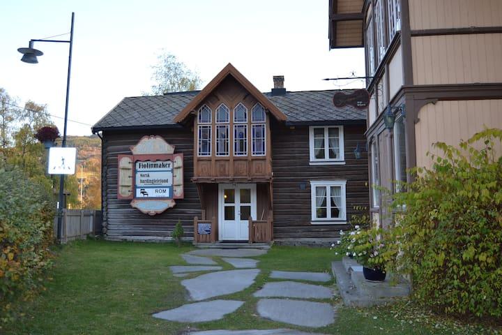 Violinmakerens Gjestehus - Det rosa rommet