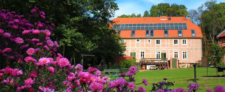 Ferienwohnung in Wassermühle- früher Räucherkammer