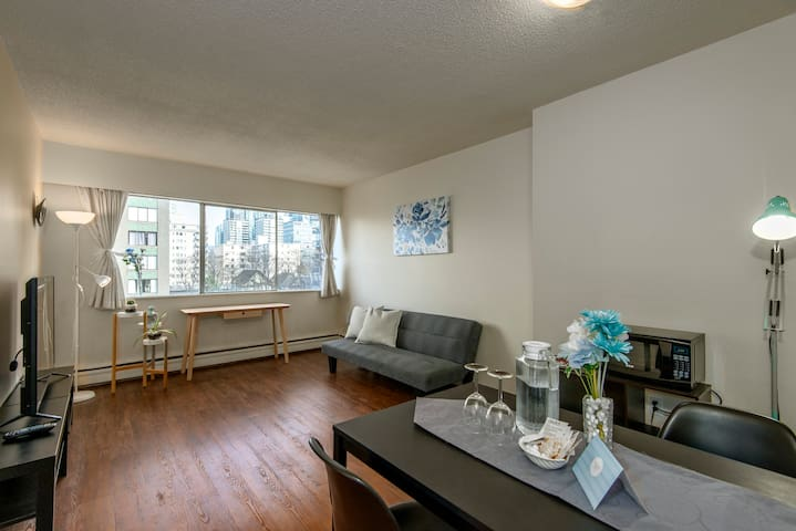 Downtown Vancouver Beautiful Private Apartment
