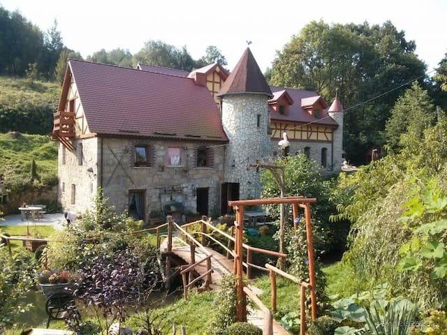 Zbójna Debra - Golejów - Schloss