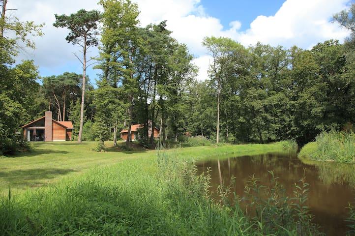 Unieke 2 pers. Bungalow a/d Dinkel in natuurgebied - Beuningen - Bangalô