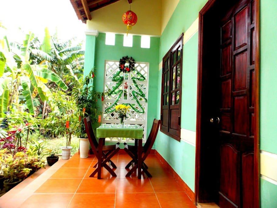 jasmine homestay - nicce balcony