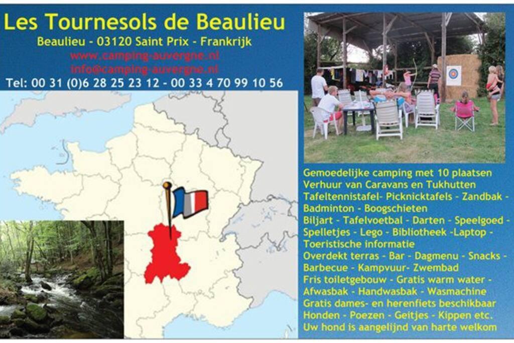 In het hart van Frankrijk, de Allier