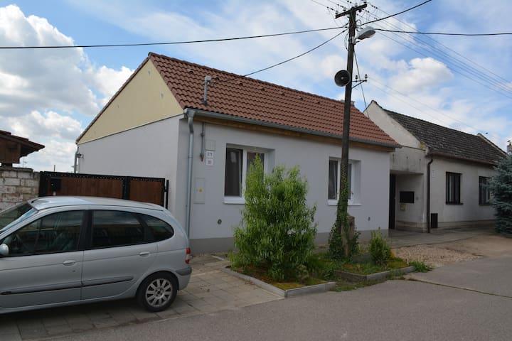Rodinný dům v Charvátské Nové Vsi