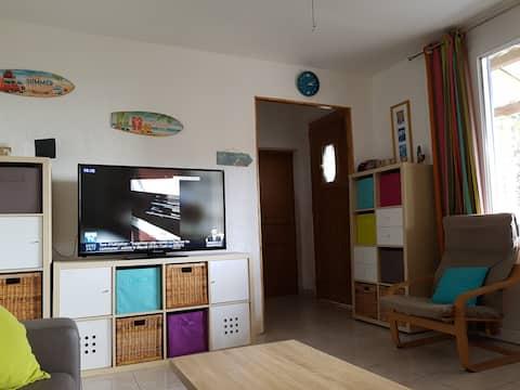Mini villa 300 m de la plage