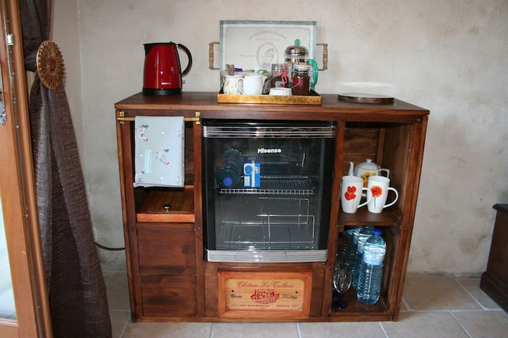 The Wine cave/drinks cooler