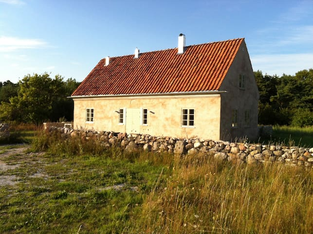 South Gotland limestone house Hamra