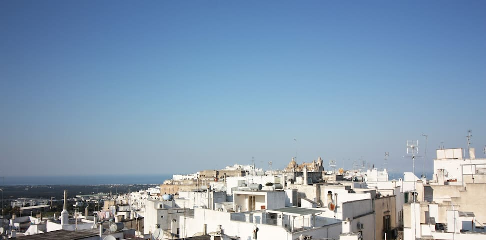 PANORAMA from the ROOFTOP to the SEA and OLDTOWN