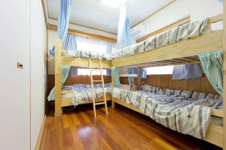 (Private room#1)Yumenosakamichi Okinawa Motobu - Kunigam-gun,Motobu-cho - Hus