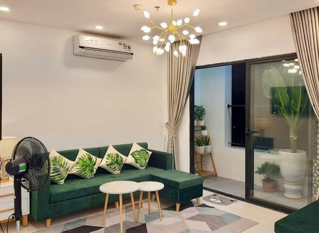 Spacious 2 Bedrooms Apt w/ city-centre view in Hue