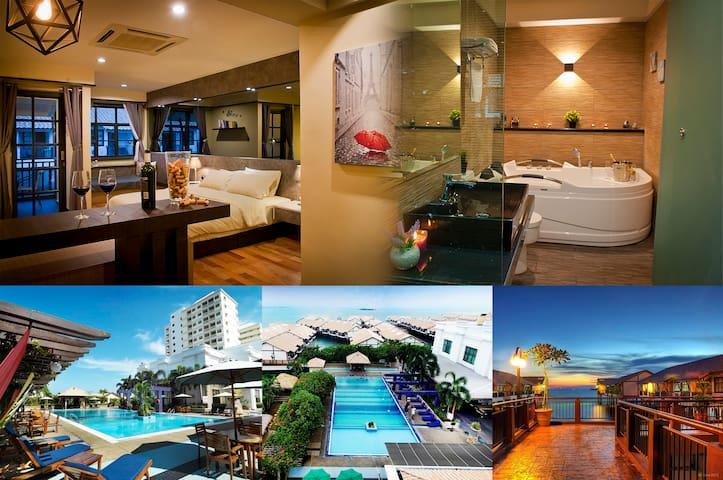 Luxury Water Chalet wt jacuzzi, Port Dickson Lexis