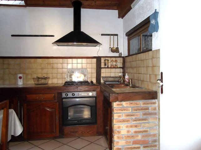 Maisonnette de charme - Fontenay-sur-Loing - Rumah