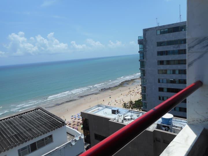 Flat c/ vistas mar em hotel 4*