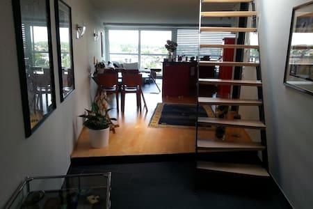 Traumhafte 3.5 Loft-Attika Wohnung - Berg - 阁楼