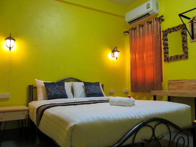 Double room in Lost in Chiang Mai Guesthouse