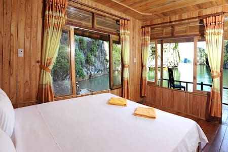 Isolated Private Sea View Bungalow in Catba island - quang ninh - Bed & Breakfast