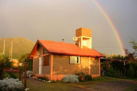 Cabaña independiente con piscina y cochera privada - Capilla del Monte - Chatka