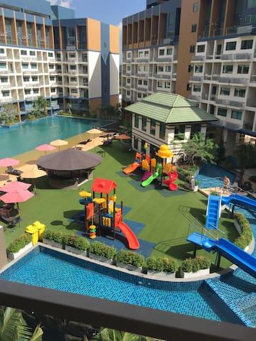 Уютные апартаменты Laguna Beach Resort 2 Джомтьен