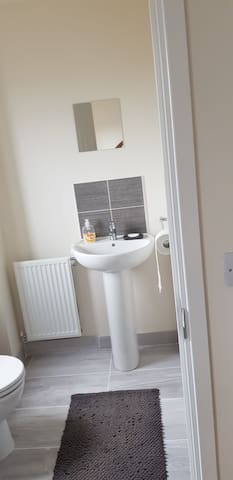 Ensuite in new house short drive to Silverstone